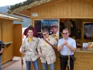 Dietmar Szarka, Peter O. Stecher, Theo Schett, EBHC Stuhlfelden 2010, Become the Arrow, Byron Ferguson, Legends in Archery, Howard Hill.