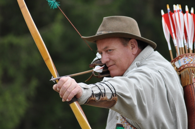 Fun with longbows & Byron Ferguson in Semriach, Austria