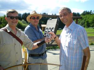 Legends in Archery - Fun with longbows. Peter O. Stecher, Dolf Loibl and Ronny Repolusk.