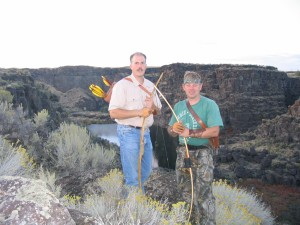 Nate Steen and Theo Schett at Snake River Canyon, Twin Falls, Idaho.