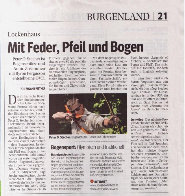 KURIER-20-08-10, Roland Pittner, Peter O. Stecher, Foto: Herwig Art