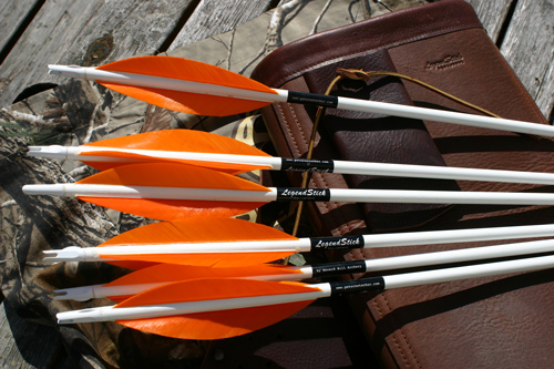 "The new ""Legend Stick"" by Craig T. Ekin, Howard Hill Archery, Montana, USA, the legend still strikes!"