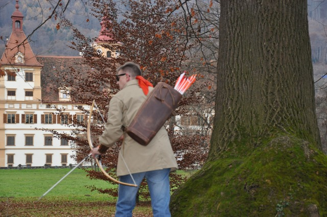 LegendStick Equipment at Schloss Eggenburg, Graz, Austria, Peter O. Stecher, Foto by Fred Kaufmann, Graz.
