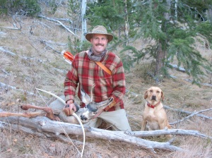 "Nate Steen of Idaho - ""Sunset Hill"" masterbowyer, Good Hunting, Nate!!"
