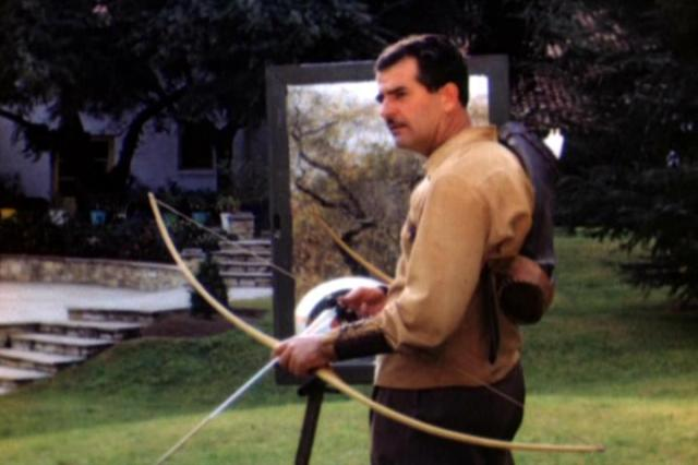 Howard Hill Trick Shooting-Byron Ferguson's Triple-A - Archery Action Award - Peter O. Stecher 2011