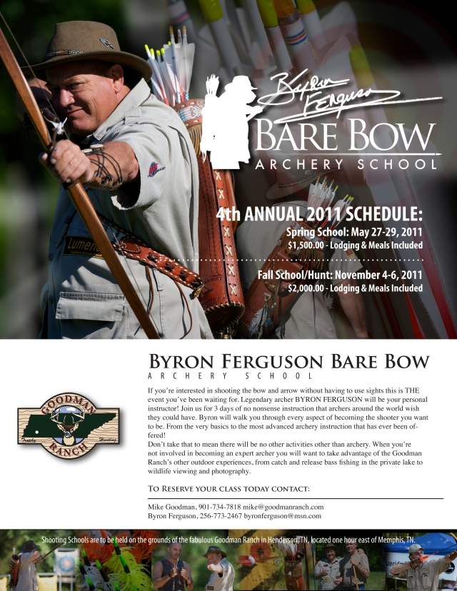 Byron Ferguson Shooting School at the GoodmanRanch, Tennessee