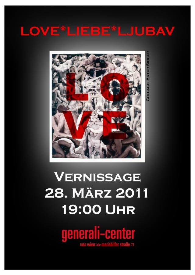 Love Liebe, Generalicenter Wien, Sabine Burg, Textile Visions 5.5
