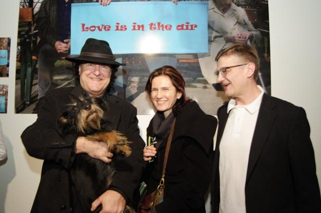 Walter Vogel, Dr. Astrid Wagner, Peter O. Stecher, Foto by Rudi Pilz 2011