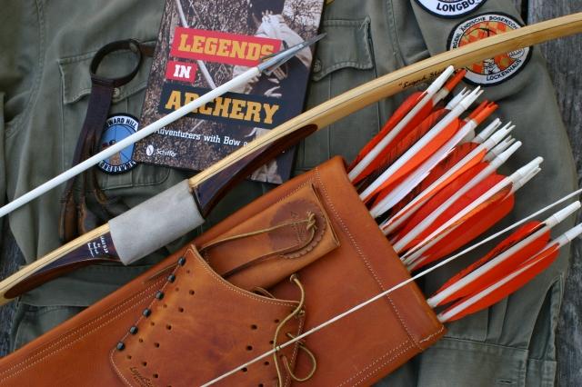 LegendStick-Bogensportausrüstung-Howard Hill Style-Peter O. Stecher