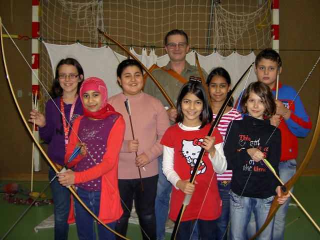 Peter O. Stecher Bogensportschule the real free archers