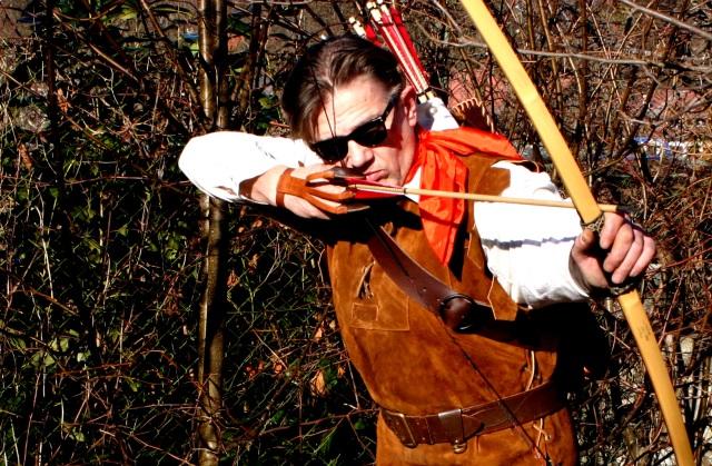 """Foto-Shooting für """"Robin Hood""""-Linie, LegendStick"""