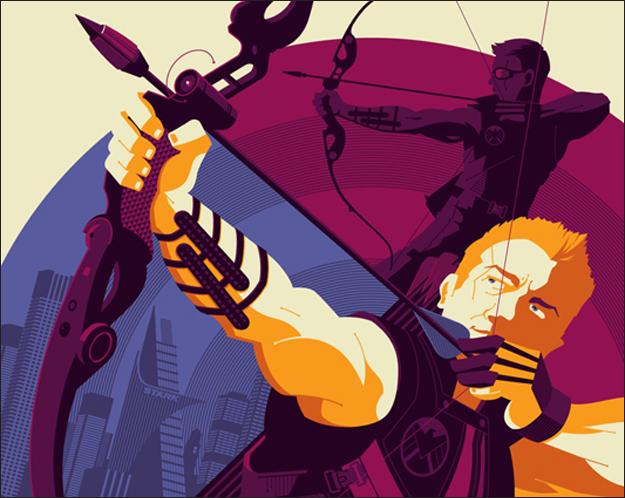 Legends in Archery: Hawkeye in Marvel's The Avengers