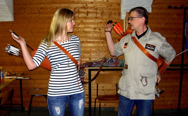 Become the Arrow - Archery Coaching in Wien.