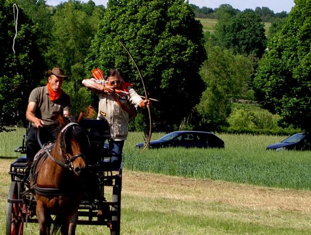 Stagecoach Shooting Peter O. Stecher, 2012, Piringsdorf