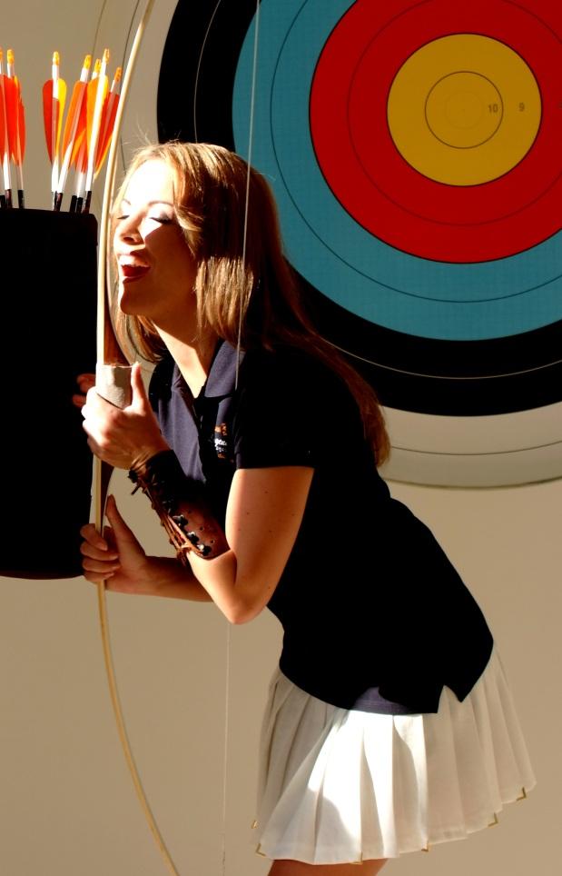 Archery-Girl Model Tanja Baumgartner