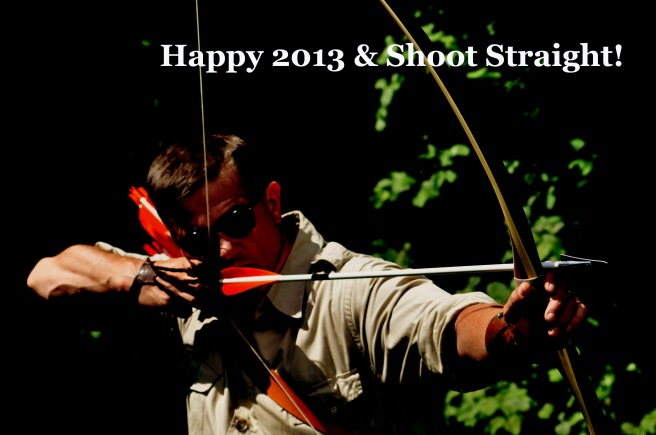 Merry Christmas & Happy 2013! Shoot Straight! Foto by Herwig Art.