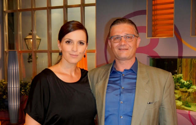 Peter O. Stecher at the Austrian Barbara Karlich talkshow