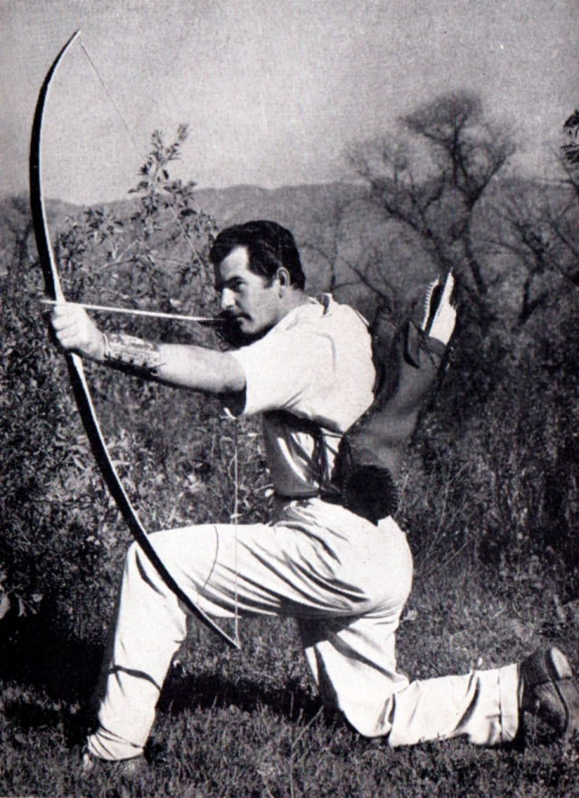 Howard Hill in Legends in Archery - Adventurers with Bow and Arrow