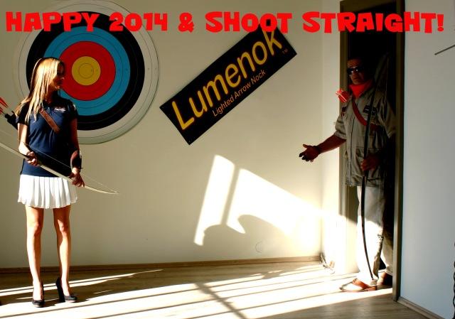 Happy 2014 & Shoot Straight!