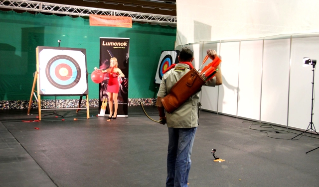 Bogensport-Messe Wels 2014 Archery-Show Wels 2014