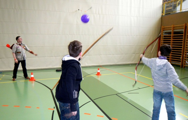 Bogenschießen lernen - Bogensport in Schulen - Bogensport-Schule
