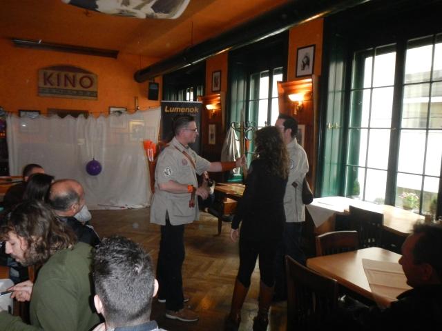 Event mit Bogen & Pfeil im Bermuda Bräu Wien