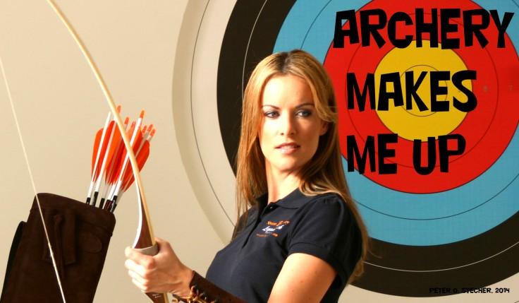 Archery Makes Me Up-Tanja Baumgartner-Peter O. Stecher-Bogenschießen
