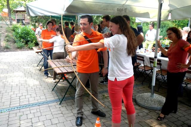 Firmenevents & Teambuliding mit Bogensport mit Peter O. Stecher