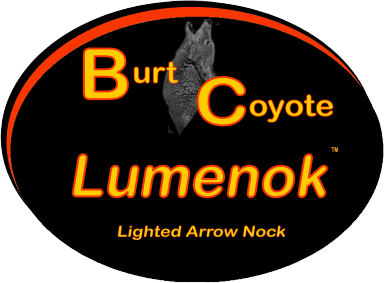 Burt Coyote Lumenok Lighted Arrow Nocks