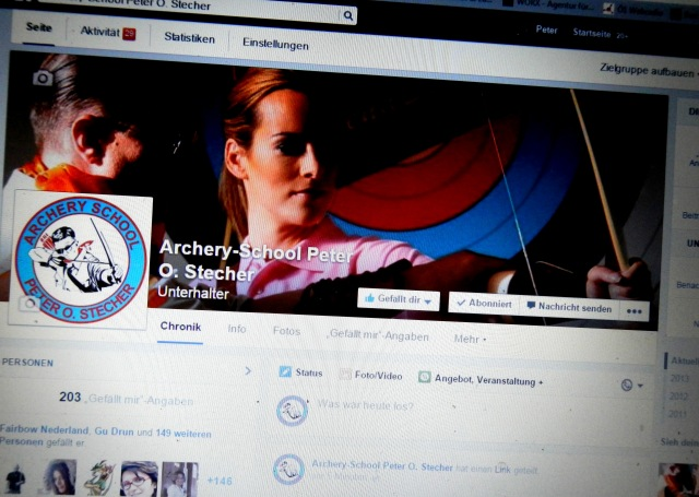 Archery-School Peter O. Stecher Facebook