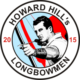 "Good 2015 News for Hillies - there is a brandnew ""Howard Hill's Longbowmen"" sew-on-patch next to come!"