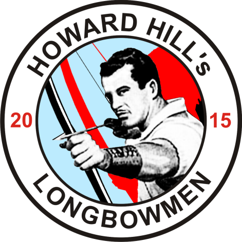 """Good News for Hillies - there is a brandnew """"Howard Hill's Longbowmen"""" sew-on-patch!"""