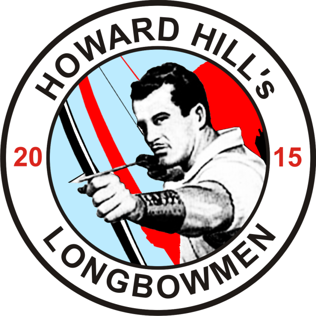 "Good News for Hillies - there is a ""Howard Hill's Longbowmen"" sew-on-patch available!"