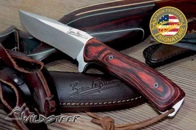 The brandnew Byron Ferguson Signature Knife by Wildsteer, France!