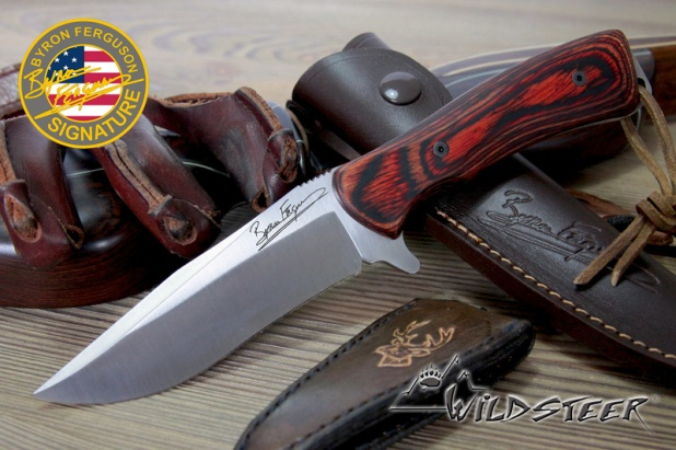 """Byron Ferguson Signature""-Messer von Wildsteer!"