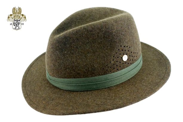 "The ""Byron Ferguson Signature Hat"", a functional & classic hunting hat - traditionally hand made by Hutmacher Zapf, Austria."