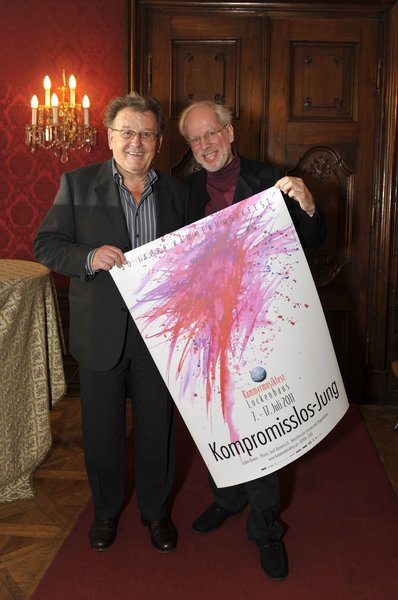 Josef Herowitsch und Gidon Kremer, 2011, Lockenhaus, Austria.