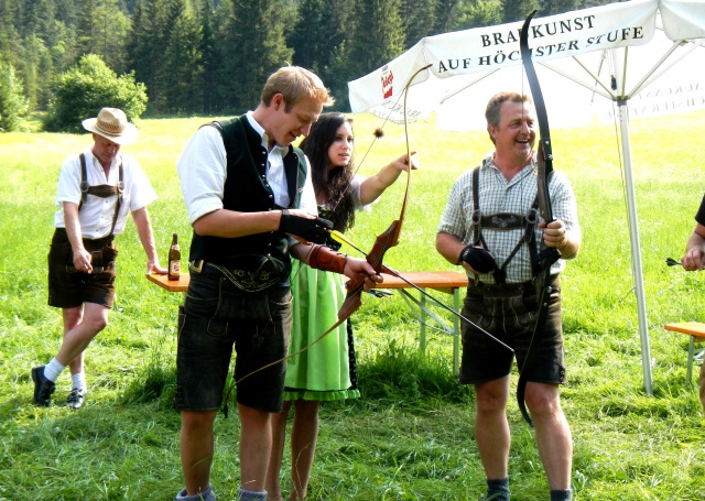 True Traditional Archery in Waidring, Tirol, Austria. Photo by Peter O. Stecher, 2015.
