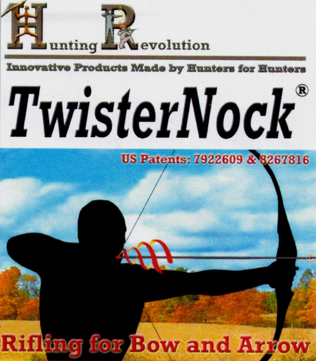 The brandnew LIGHTED TwisterNock by Hunting Revolutions