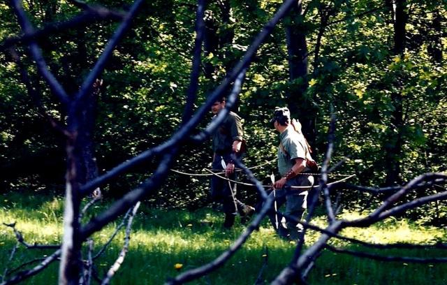 Pech beim Denken? Traditionelle Bogenschützen schießen auf Sibirische Tiger?