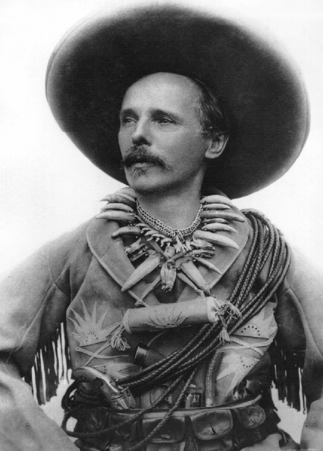 Karl May als Old Shatterhand, 1896.