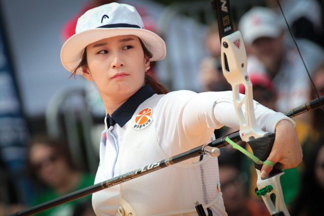 Ki Bo-Bae (Hangul: 기보배; born February 20, 1988 in Anyang, Gyeonggi Province) is a South Korean archer.