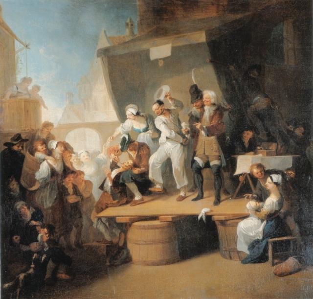 Moderne Scharlatane & Quacksalber - Der Quacksalber, Franz Anton Maulbertsch, vor 1785.