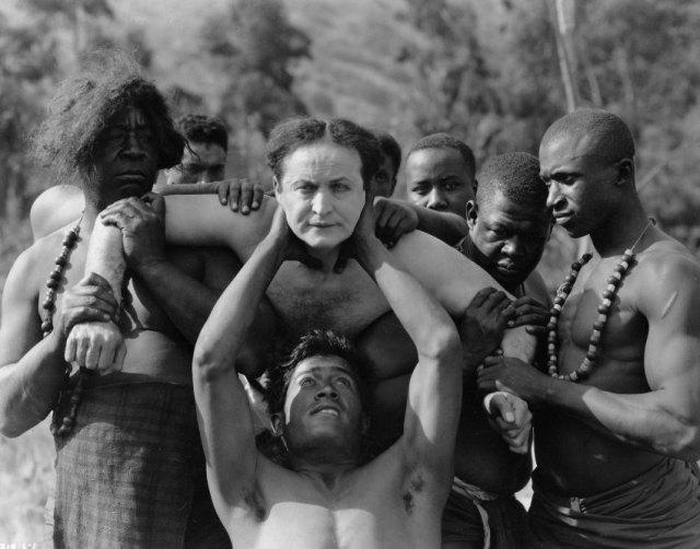 """Filmstill  """"Terror Island"""" Harry Houdini 1920 Paramount."""