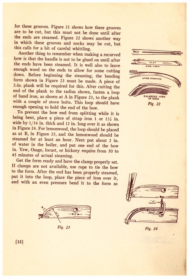 """""""THE FLAT BOW"""" by W. BEN HUNT & JOHN J. METZ , The Bruce Publishing Company, 1936. CHAPTER ONE: The Flat Bow"""