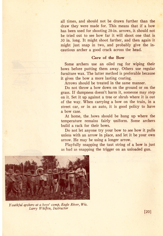 """THE FLAT BOW"" by W. BEN HUNT & JOHN J. METZ , The Bruce Publishing Company, 1936."