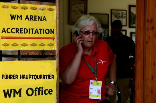 Frau Trudy Medwed Geschäftsführende Präsidentin Gen. Sekretärin Österr. Bogensportverband - ÖBSV Archery Austria, Photo by Peter O. Stecher 2011.