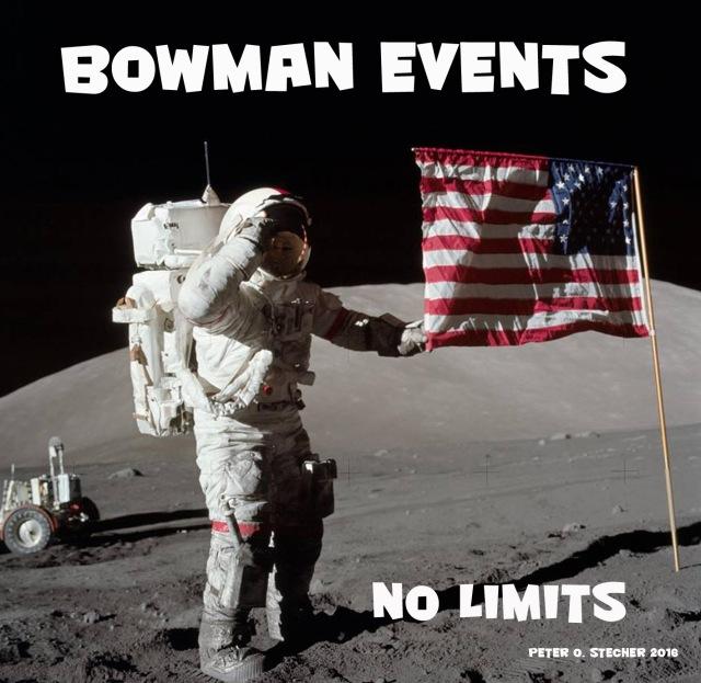 BOWMAN EVENTS NO LIMITS 2016