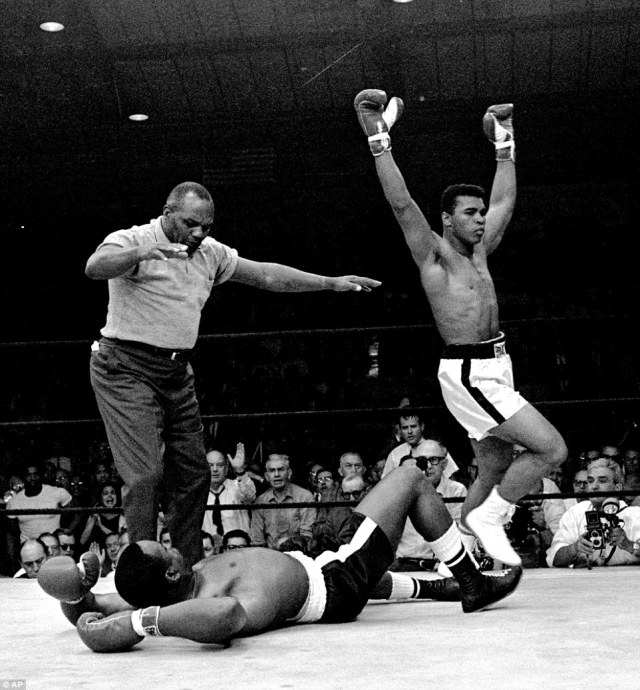"""""""Float like a butterfly, sting like a bee. The hands can't hit what the eyes can't see."""" Muhammad Ali - R.I.P. Greatest!"""