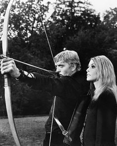 David Hemmings + Sharon Tate - Eye of the Devil (1966)